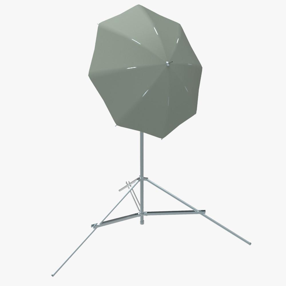 umbrella light fbx