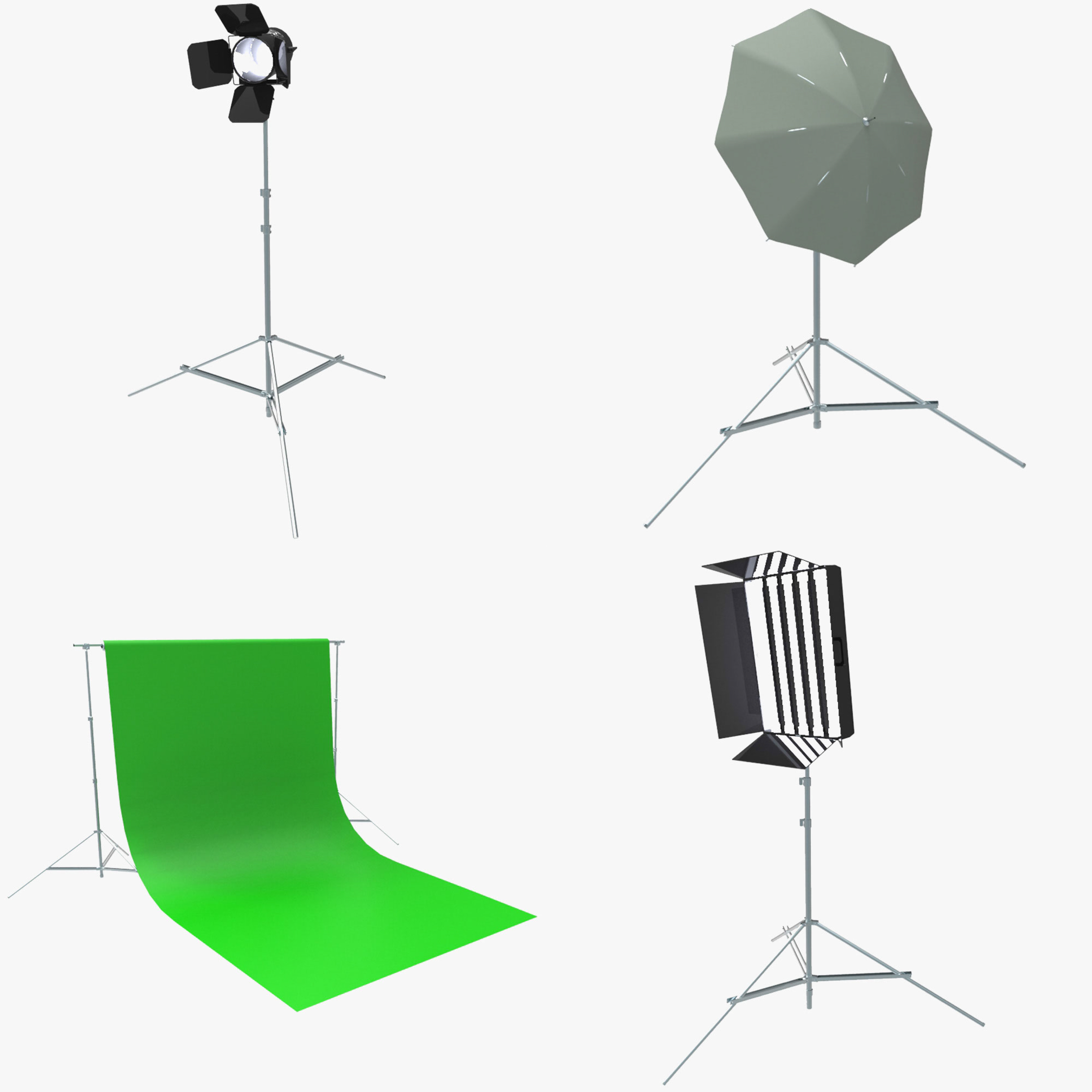 3d model photography props