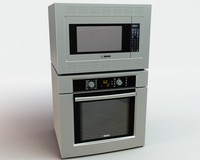 3d kitchen appliance 002 model