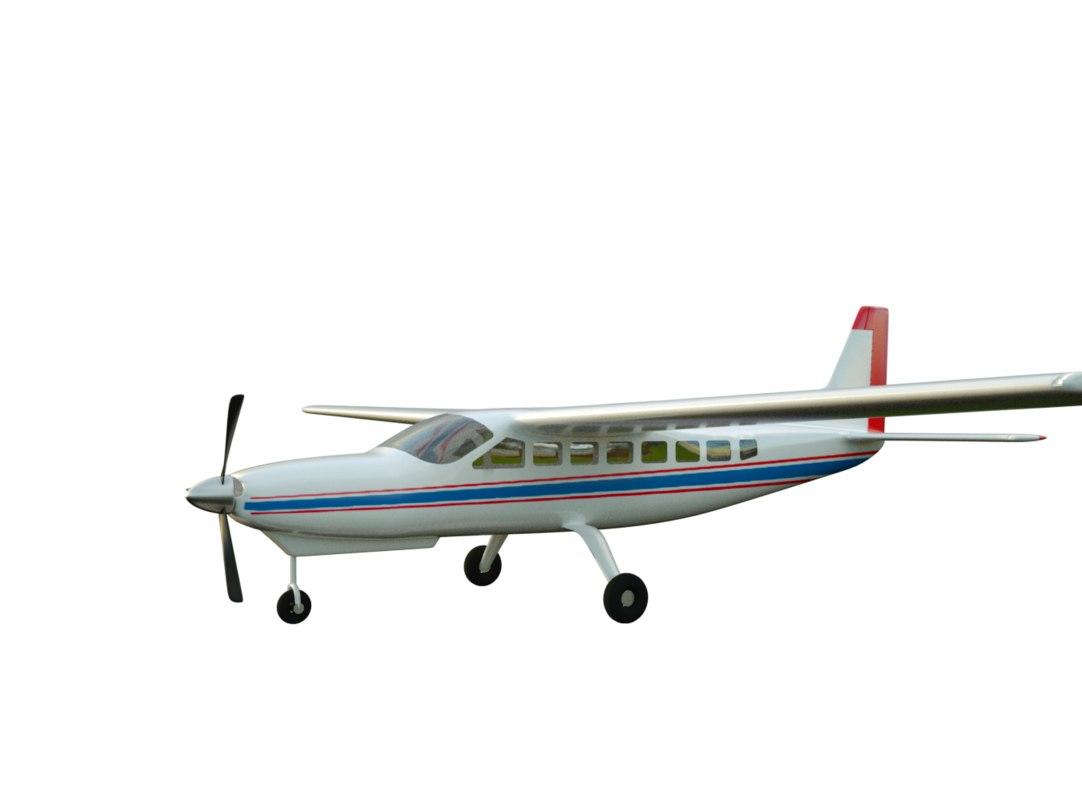 cessna 208 3d model