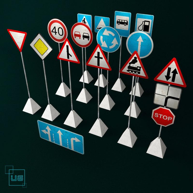 traffic signs road max