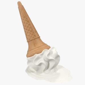 max dropped ice cream cone