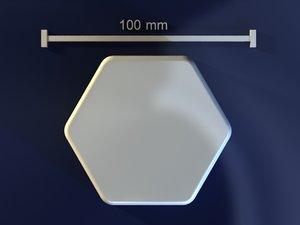 free max mode hexagon mold hand