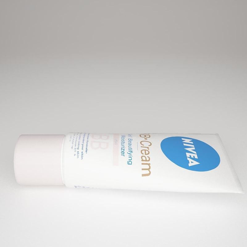 3d model nivea bb cream