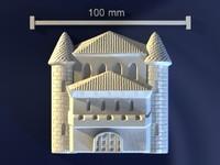 sand castle 3d max
