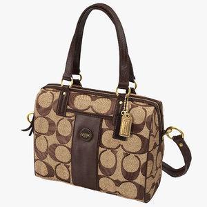 3ds max coach purse