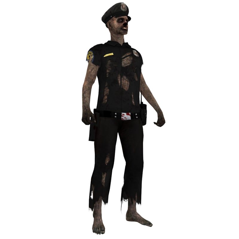 max rigged zombie police 3