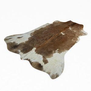 3dsmax cowhide animal skin