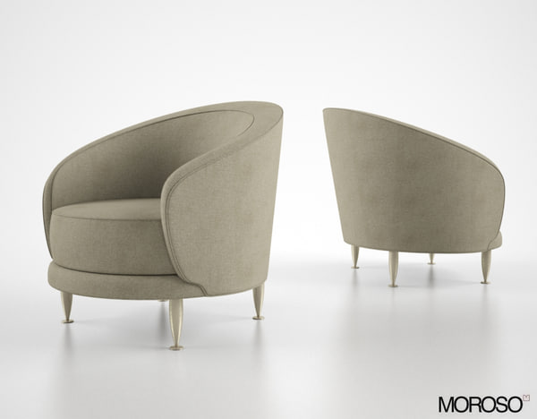 3d moroso newton armchair