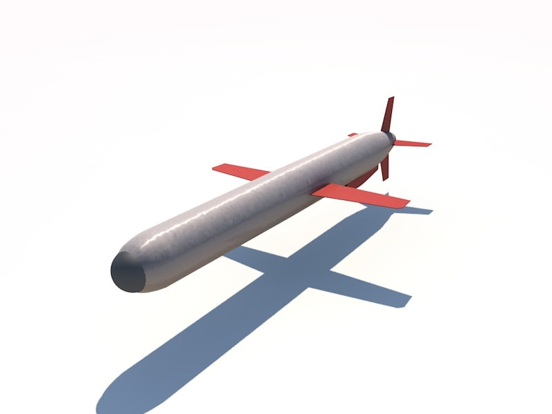 3ds max tomahawk missile