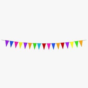 party decoration 3ds