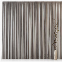3ds max tull curtains