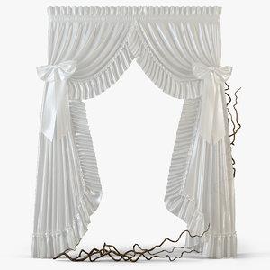curtains m12 3d model