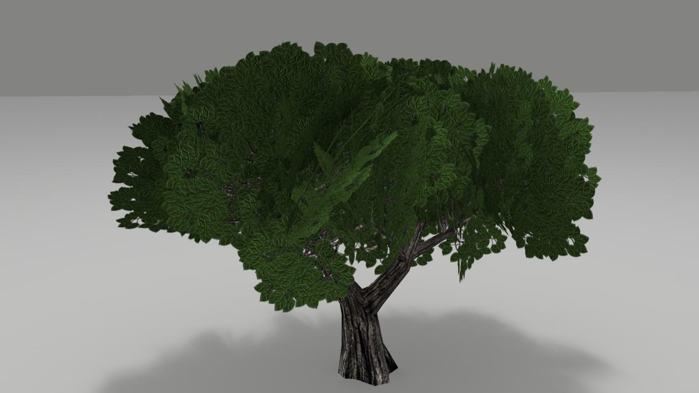 3d model of games tree