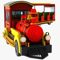 Cartoon Mini Electric Fun Train