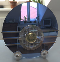 sparton bluebird radio art deco 3d model