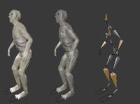 rig alien creature 3d fbx