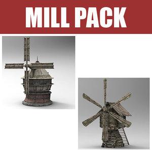 3d mill old model