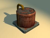 max oil tank