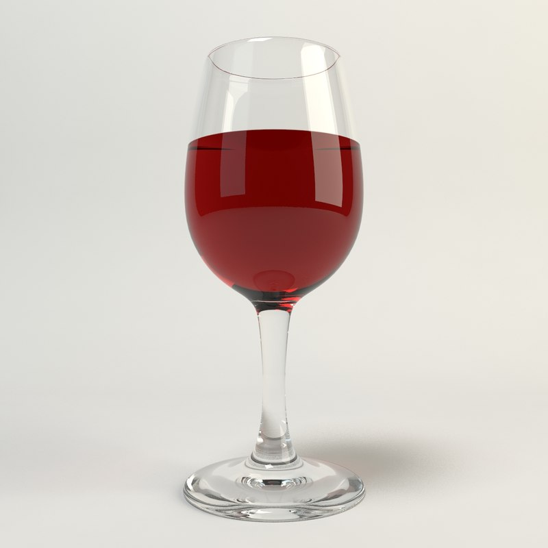 3d max wine glass