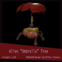 Alien Umbrella Tree