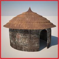 3dsmax huts 2