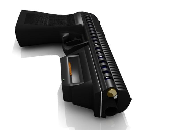 obj rail guns hand