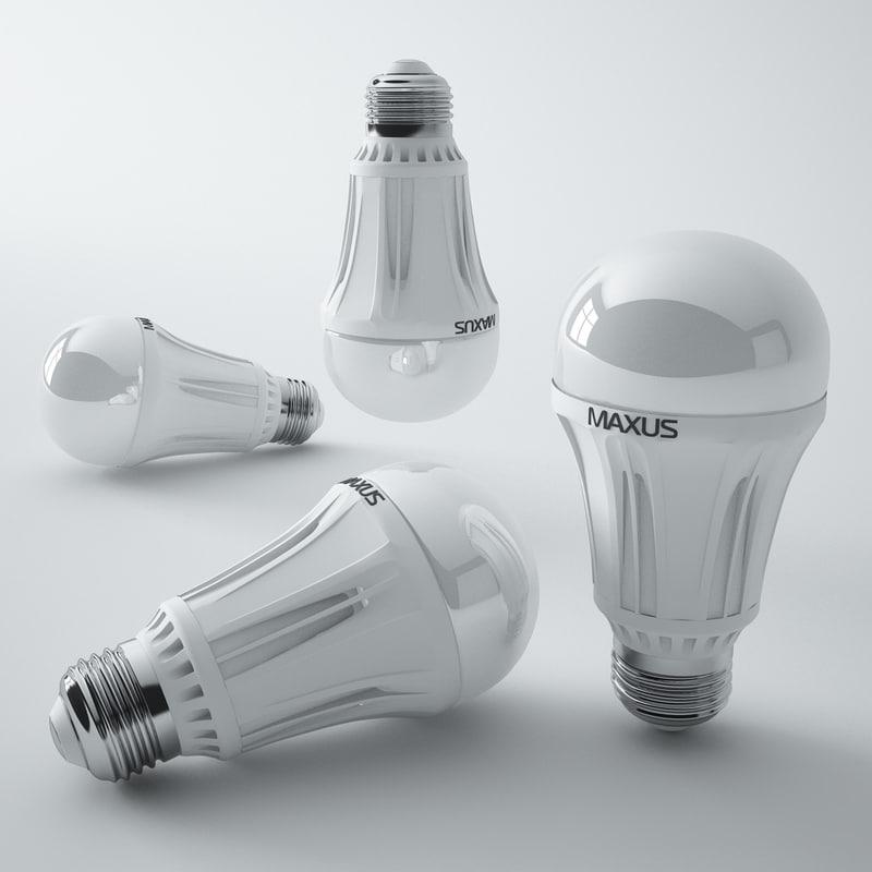 3ds max maxus led lamp
