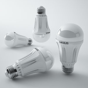 3ds max maxus led lamp