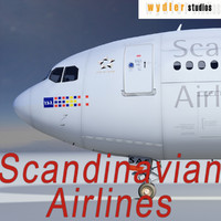 A340-300 - Scandinavian Airlines