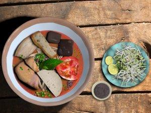 3d crab rice noodles