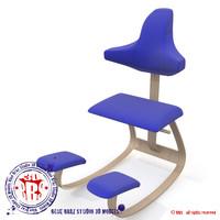 c4d ergonomic chair