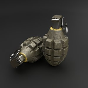 grenade obj