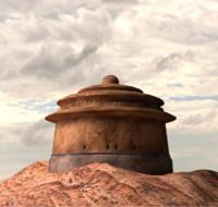 jabba s palace 3d model