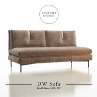Anatomy Design - DW Sofa Double Seater