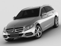Mercedes C Class estate 2014 avantgarde
