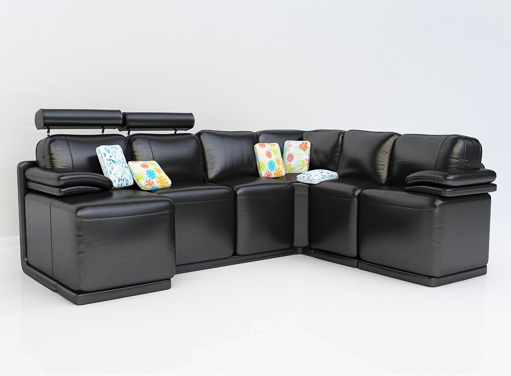 3ds max modern sofa