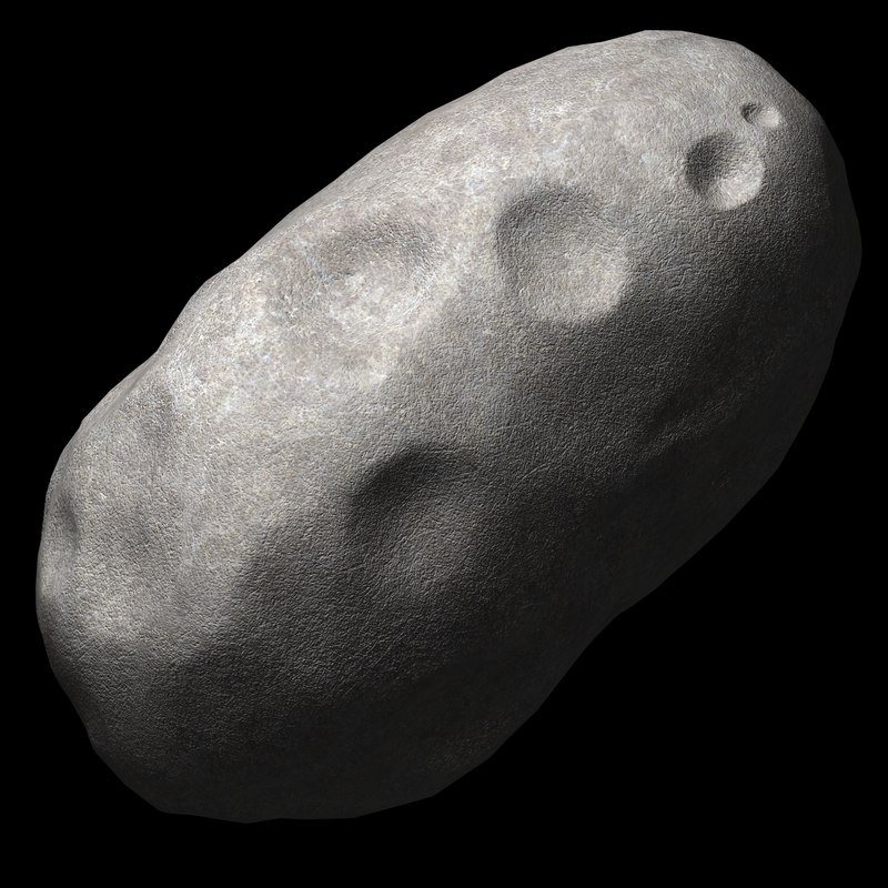 3d asteroid model