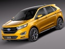 Ford edge 3D models