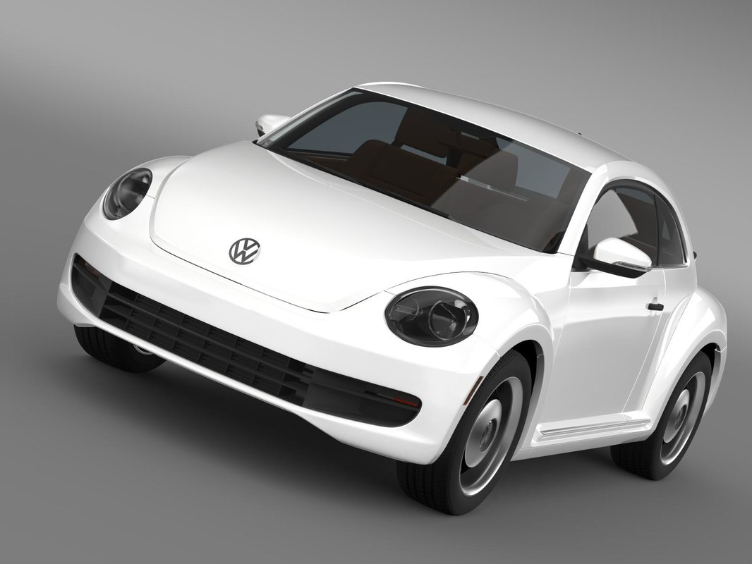 volkswagen beetle classic 2015 3d 3ds