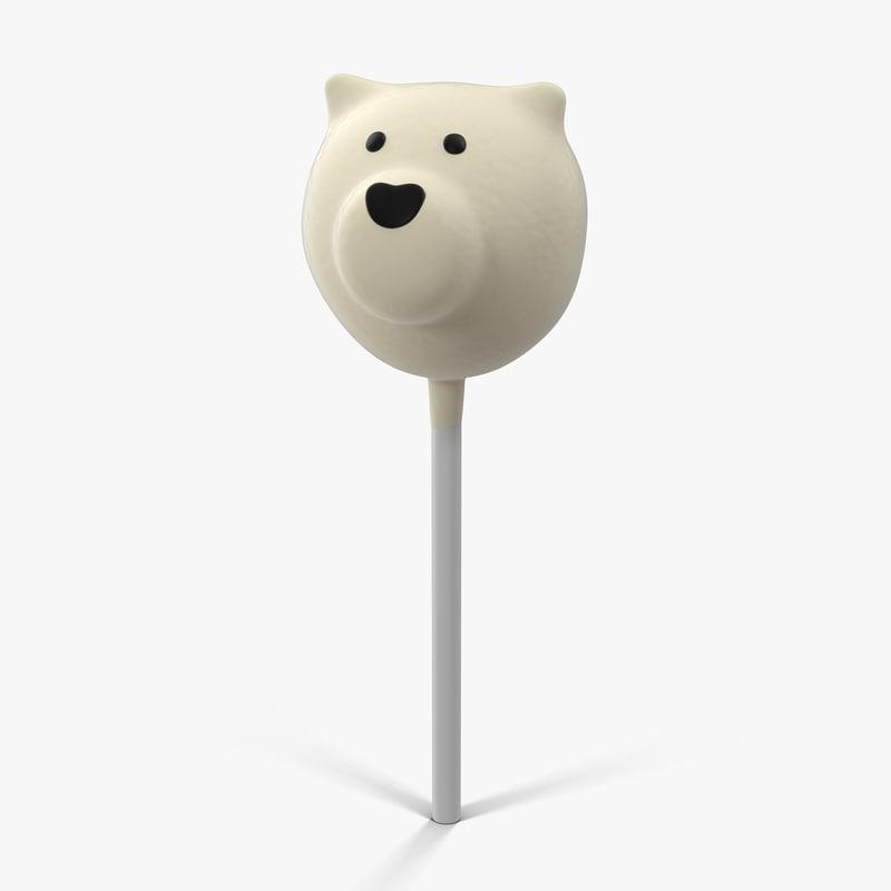 cake pop bear