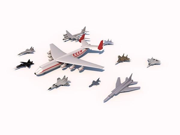obj aircrafts f