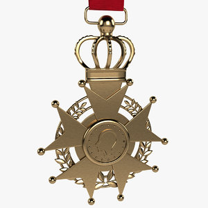 medal honor 3d model