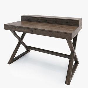 free greydon desk 3d model
