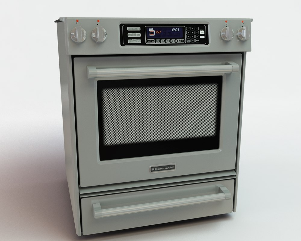 3d model kitchen appliance 003