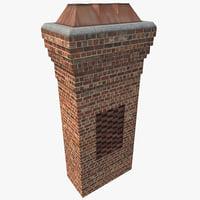 chimney 5 3d c4d