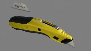 3d fatmax stanley knife model