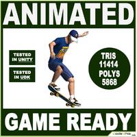 skateboard 3d x