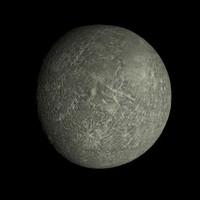 mercury 4k c 3d obj