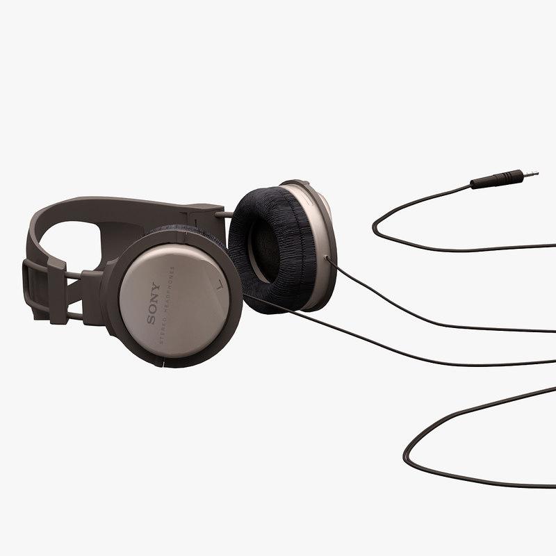 3d sony headphone